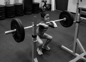 Roxanne-Front-Squat-CrossFit-626-Kids